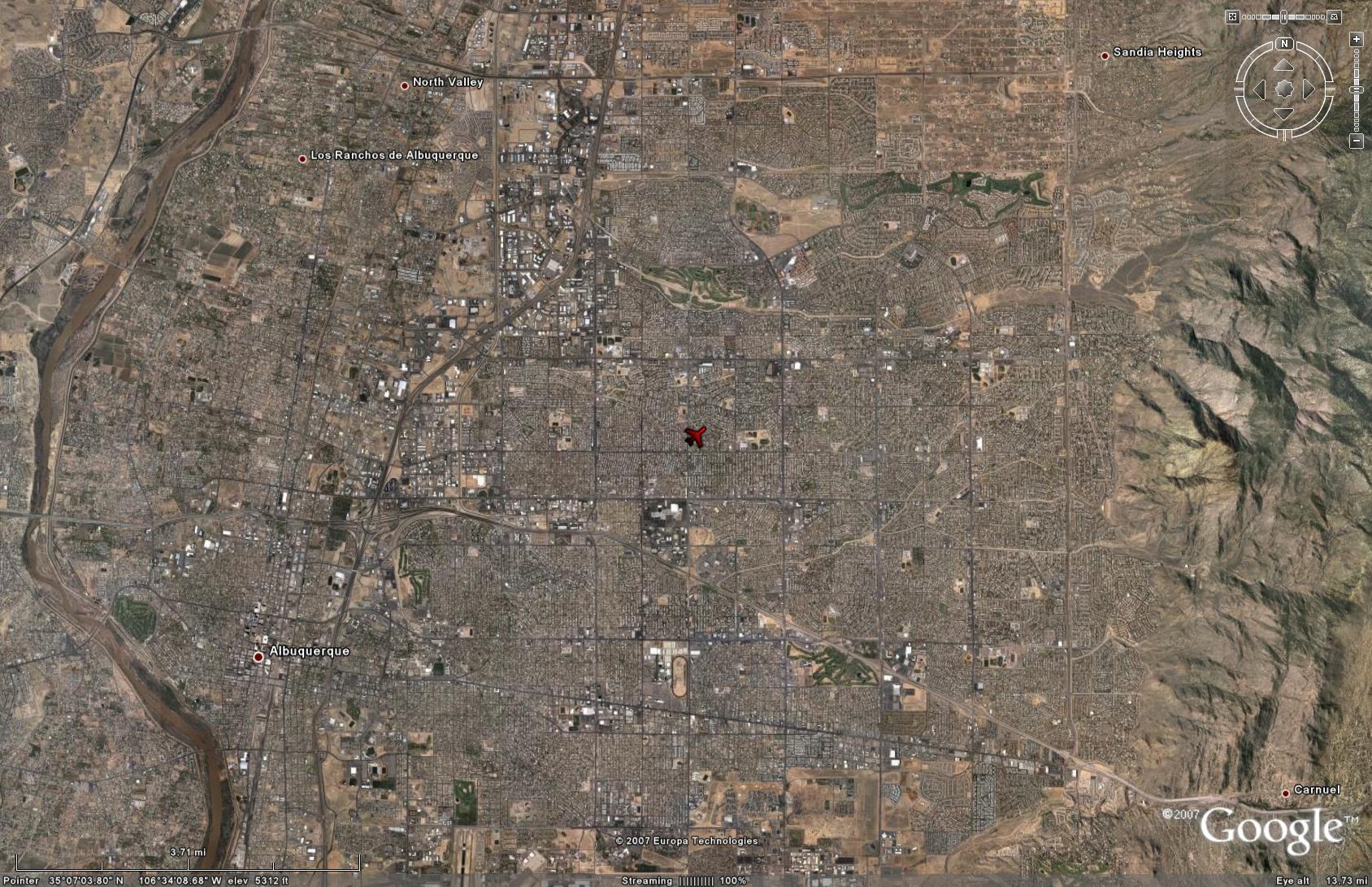 Google Maps Albuquerque on